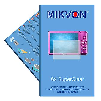 Canon PowerShot ELPH 100 HS screen protector- Mikvon films SuperClear