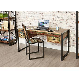 Urban Chic Laptop Desk / Dressing Table Brown - Baumhaus
