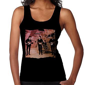 TV Times Beatles Lennon McCartney Show Performance Women's Vest