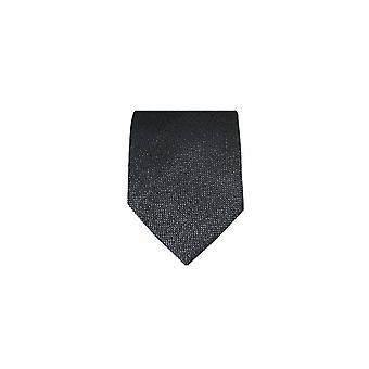 Grijze 7-fold stropdas v zijde m. lurex v. ceremonies!