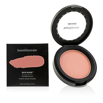 Bareminerals Gen Nude Powder Blush - # Pretty In Pink - 6g/0.21oz