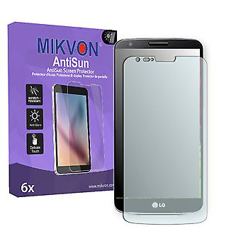 LG G2 Screen Protector - Mikvon AntiSun (Retail Package with accessories) (reduced foil)