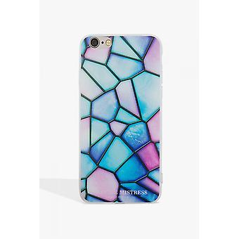 Little Mistress Marble Geo Phone Case
