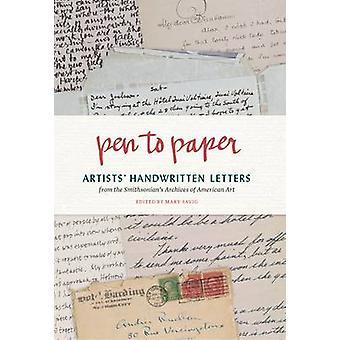 Penna på papper - konstnärernas handskrivna brev från Smithsonian's Arc