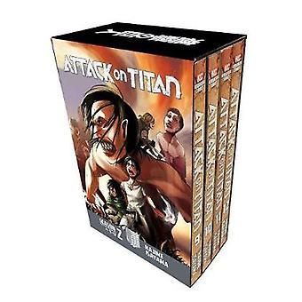 Attack On Titan Season 2 Manga Box Set by Attack On Titan Season 2 Ma
