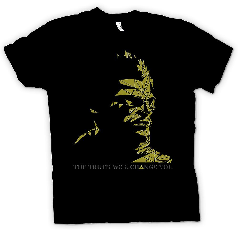 Mens T-shirt - Deus Ex - The Truth Will Change You