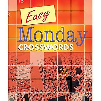 Gemakkelijk maandag Crosswords