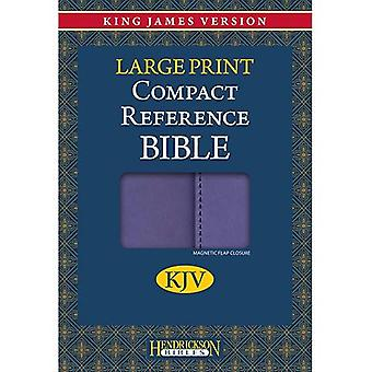 Compact Reference Bible-KJV-Large Print