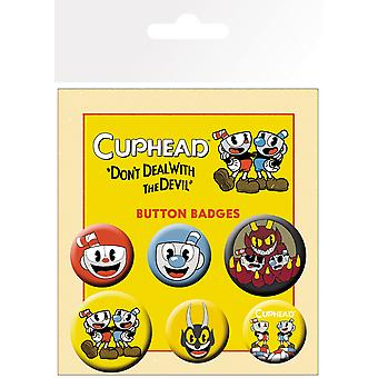 Cuphead Mix Badge Pack