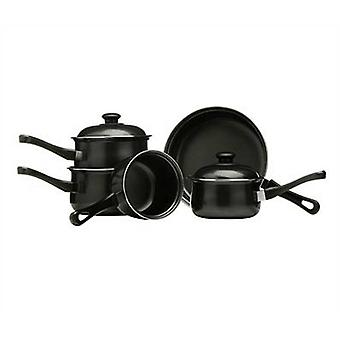 5pc zwarte Cookware Set