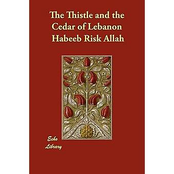 The Thistle and the Cedar of Lebanon by Allah & Habeeb Risk