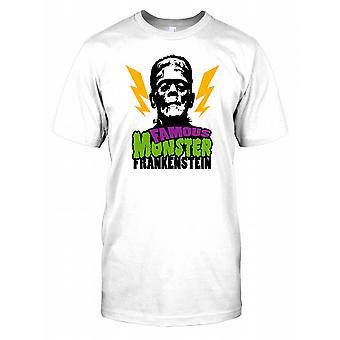 Famous Monster Frankenstein - Classic Horror Kids T Shirt