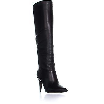 Michael Kors Womens Rosalyn Pointed Toe Knee High Fashion Boots