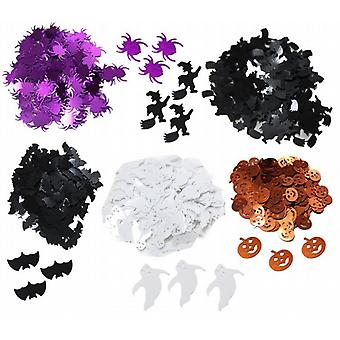 Party Confetti Decorations Halloween Scatters Set of Different Shapes Pack of 3 (WS630441)