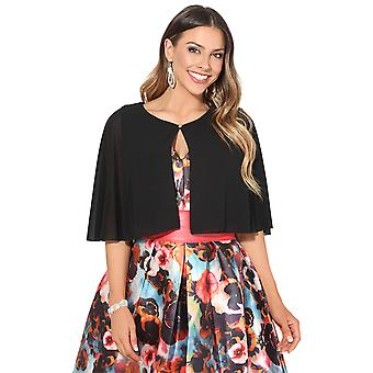 KRISP drappeggio in Chiffon Cape Shrug
