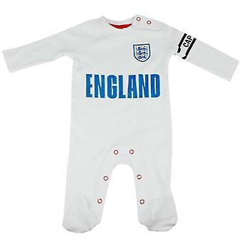 Inghilterra F.A. tuta da notte 6/9 mths