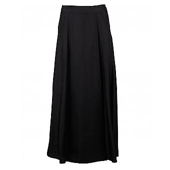 Calvin Klein Womenswear Silk Twill Midi Skirt