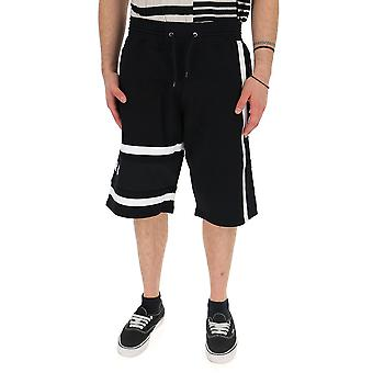 Givenchy White/black Cotton Shorts