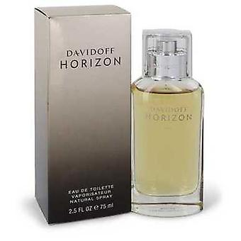 Davidoff Horizon By Davidoff Eau De Toilette Spray 2.5 Oz (men) V728-543406