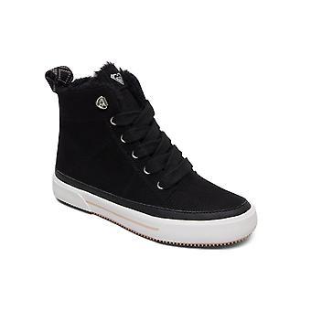 Roxy Womens Ivan Fur Casual Shoes - Black