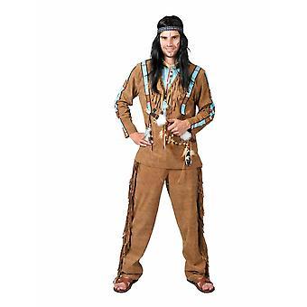 Indian Buffalo Hunter Men's Costume Sioux Apache Men's Costume