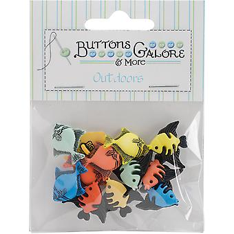 Bouton Theme Pack-Tropical Fish BTP-4242