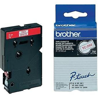 Labelling tape Brother TC-292 Tape colour: White