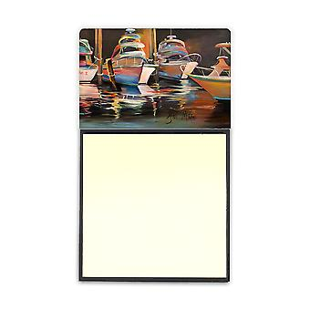 Sea Chase Deep Sea Fishing Boats Sticky Note Holder JMK1076SN