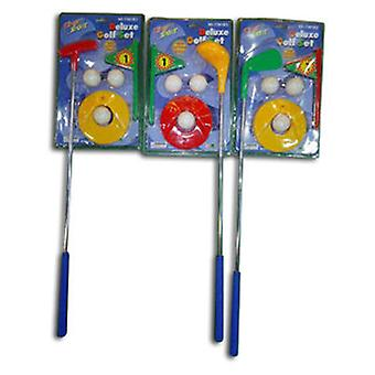 Import Set Golf With Palo Metal (Ar-Livre , Desportos)