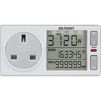 Energy consumption meter VOLTCRAFT 4500Advanced UK built-in child safety guard, Sele