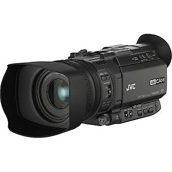 Camcorder JVC GY-HM170E 8.9 cm(3.5 )12.4 MPix Optical zoom: 12 x Black