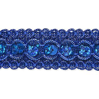 Trish Sequin Metallic Braid Trim 7/8