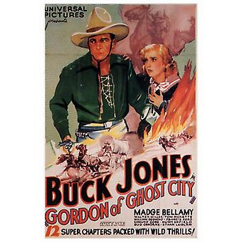 Gordon van Ghost stad Movie Poster Print (27 x 40)