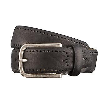 BRAX belts men's belts leather belt black 3133