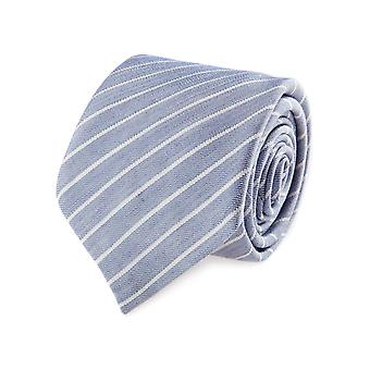 Baldessarini classic tie light blue 7 cm striped