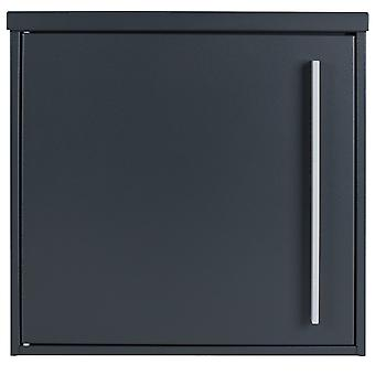 Mail box MOCAVI box 101 anthracite grey (RAL 7016) / grey 12 litre wall letter box