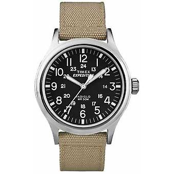 Timex Mens preto expedição Scout T49962 Watch