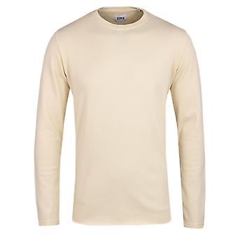 Edwin Terry Natural Jersey Crew Neck Sweatshirt