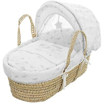 Obaby Disney Winnie The Pooh Moses Basket Dreams & Wishes
