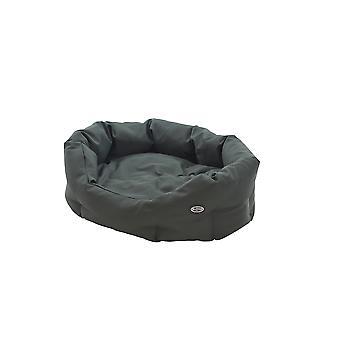 Buster Premium Cocoon Bed Beluga Green 75cm