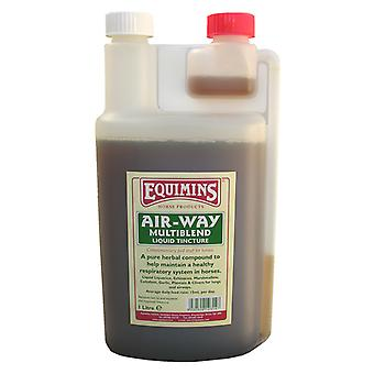 Equimins Air Way Liquid Herbal Tincture 1ltr