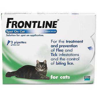 Frontline Spot på kat 3 pipetter