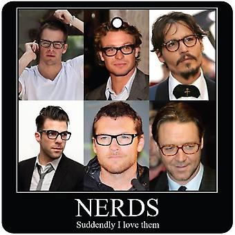 Celebrity Nerds Car Air Freshener