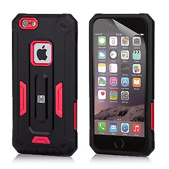 32dre hard Defender sak for Apple iPhone 6 pluss / 6S Plus - rød