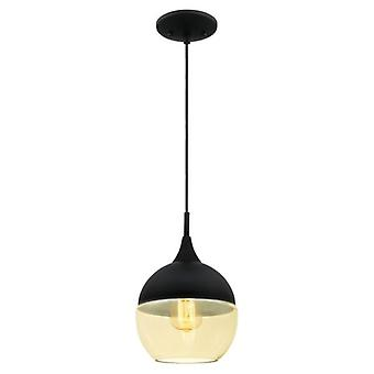 Westinghouse One-Light Pendant matte black