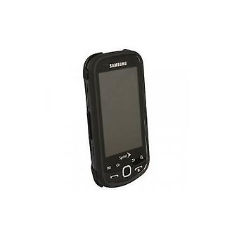 Samsung Intercept M910 Snap-On Hard Case (Black, Rubberized)