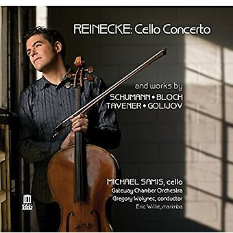 Reinecke / Schumann / Bloch - Cello Cto & værker [CD] USA import