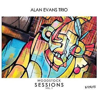 Alan Evans - Woodstock sessioner 1 [CD] USA import