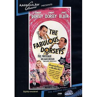 Fabulous Dorseys (1947) [DVD] los E.e.u.u. la importación