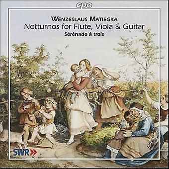 W. Matiegka - Wenzeslaus Matiegka: Notturnos [CD] USA import